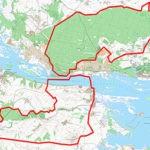 Карта Зеленодольского охотхозяйства